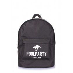 POOLPARTY Backpack Oxford Black