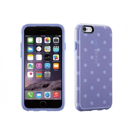 Speck for Apple iPhone 6/6s CandyShell Inked Stripe Polka HeatherWisteria Purple