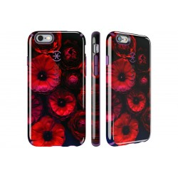 Speck for Apple iPhone 66s Candyshell Inked Moody Bloom Pattern Acai Purple