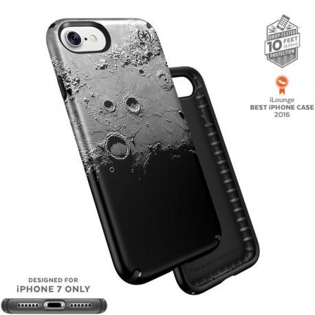 Speck for Apple iPhone 7 Presidio Inked Dark Moon Black Metallic/Black