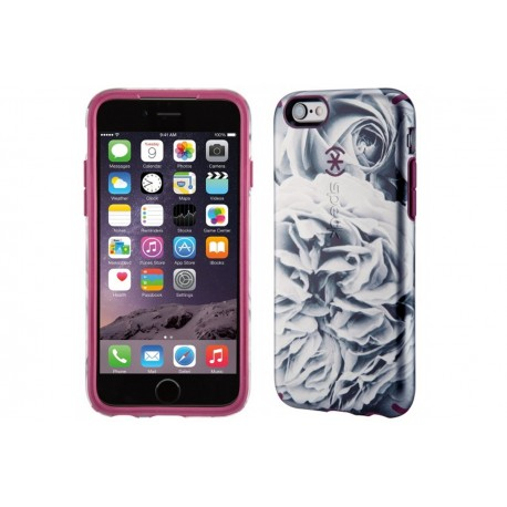 Speck for Apple iPhone 66s Candyshell Inked Luxury Edition Shimmering RoseCabernet Red