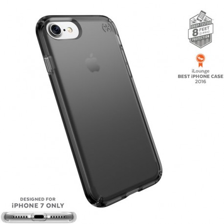 Speck for iPhone 7 Presidio Clear Onyx Black Matte
