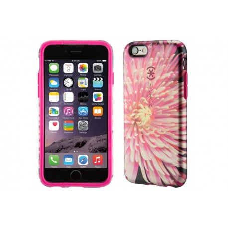 Speck for Apple iPhone 6/6s Candyshell Inked Luxury Edition Hypnotic Bloom/Fuchsia Pink