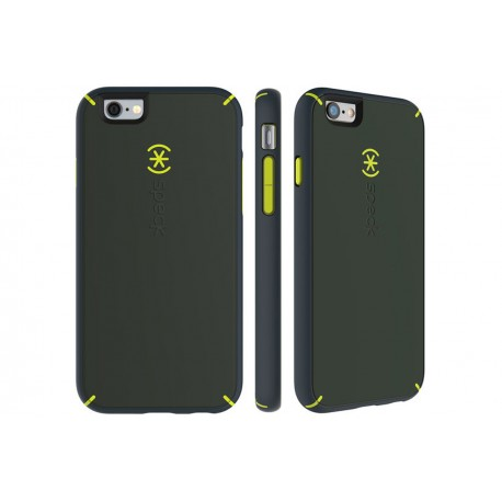Speck for Apple iPhone 6/6s MightyShell Dusty Green/Antifreeze Yellow/Charcoal Grey