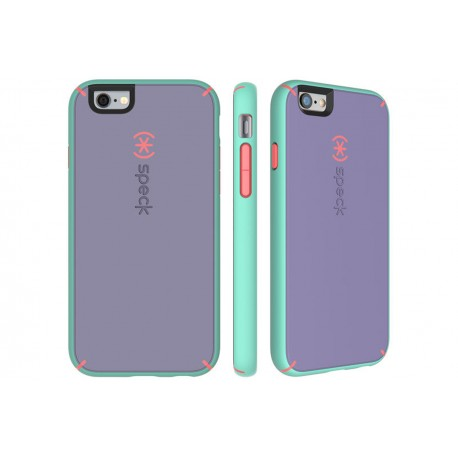 Speck for Apple iPhone 66s MightyShell Heather PurpleWarning OrangeAloe Green