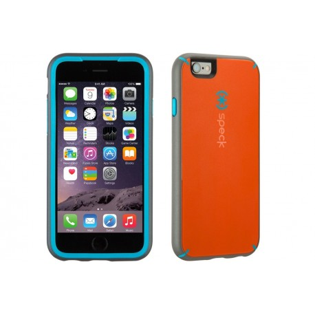 Speck for Apple iPhone 6/6s MightyShell Carrot Orange/Speck Blue/Slate Grey