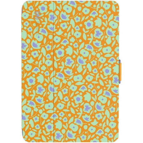 Speck for Apple iPad Mini 4 StyleFolio Kurbits Floral OrangeNacho OrangeHeather Purple