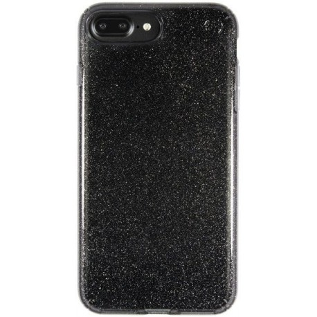 Speck for Apple iPhone 7 Plus Presidio Clear Glitter Onyx Black With Gold Glitter