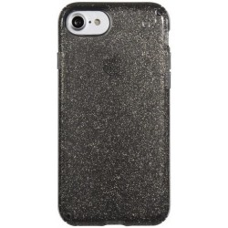 Speck for Apple iPhone 7 Presidio Clear Glitter Onyx Black With Gold Glitter