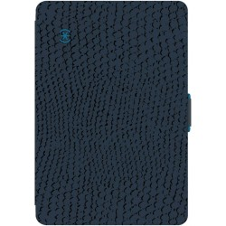 Speck for Apple iPad Air 2 StyleFolio Rattleskin Dark GreyTahoe Blue
