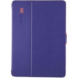 Speck for Apple iPad Air and iPad Air 2 StyleFolio Ultraviolet Purple Warning Orange