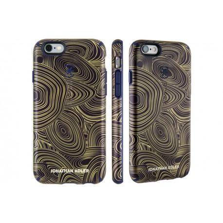 Speck for Apple iPhone 6/6s Candyshell Inked Jonathan Adler MalachiteBlackGold/BerryBlack Meta