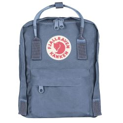 Fjallraven Kanken Mini (Blue Ridge-Random Blocked)