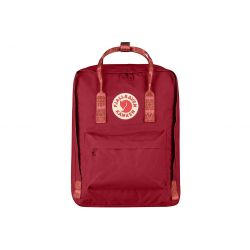 Fjallraven Kanken (Deep Red-Folk Pattern)