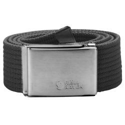 Fjallraven Canvas Belt (Dark Grey)
