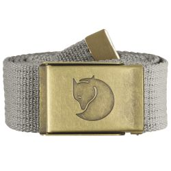 Fjallraven Canvas Brass Belt 4cm (Fog)
