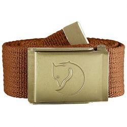 Fjallraven Canvas Brass Belt 4cm (Autumn Leaf)
