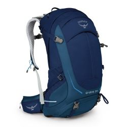 Osprey Stratos 34 (Eclipse Blue) - S/M