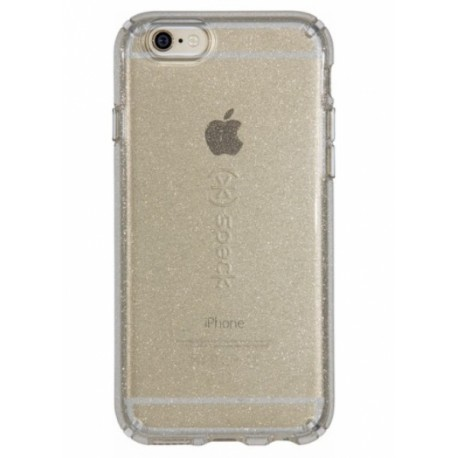 Speck for Iphone 66S Candyshell- ClearClear Gold Glitter