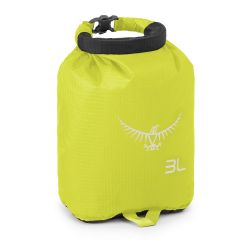 Osprey Ultralight Drysack 3L (Electric Lime)