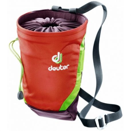 Deuter Gravity Chalk Bag II L (Papaya Aubergine)