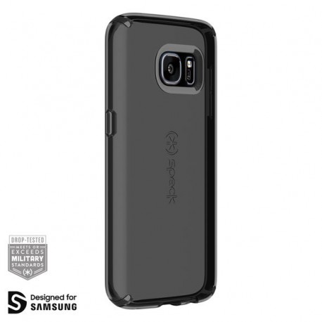 Speck for Samsung Galaxy S7 Candyshell Clear - Onyx Black