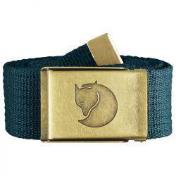 Fjallraven Canvas Brass Belt 4cm (Glacier Green)