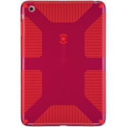 Speck iPad mini CandyShell Grip Fuchsia PinkPoppy Red