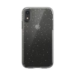 Speck Presidio Clear (iPhone XR- Glitter Clear/Gold Glitter)