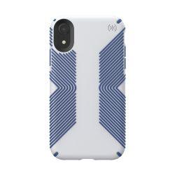 Speck fop Apple iPhone XR PRESIDIO GRIP - MICROCHIP GREYBALLPOINT BLUE