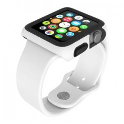 Speck for Apple Watch 42mm CandyShell Fit WhiteBlack