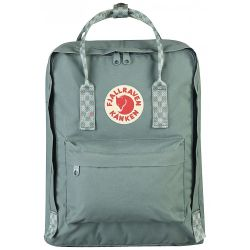 Fjallraven Kanken (Frost Green-Chess Pattern)