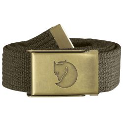 Fjallraven Canvas Brass Belt 3cm (Dark Olive)