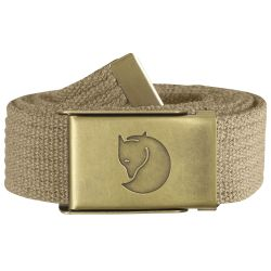 Fjallraven Canvas Brass Belt 3cm (Sand)