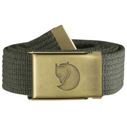Fjallraven Canvas Brass Belt 3cm (Mountain Grey)