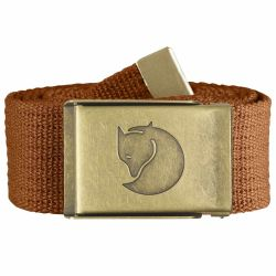 Fjallraven Canvas Brass Belt 3cm (Autumn Leaf)