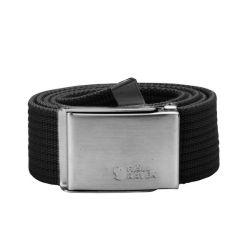 Fjallraven Merano Canvas Belt (Black)