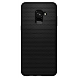 Spigen Liquid Air (Galaxy A8+ (2018)) Matte Black