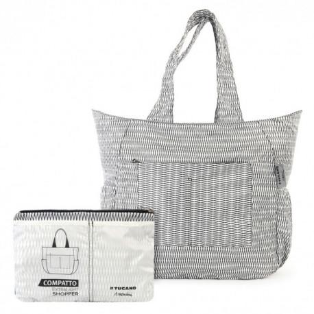 f66d2b4cf1a8 ProBag|Раскладная сумка Tucano Compatto Shopper Mendini (White ...