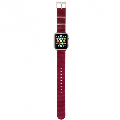 Incase Nylon Nato Band for Apple Watch 38mm Deep Red