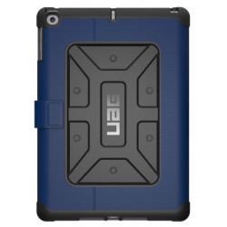 UAG Metropolis (iPad 9.7 - 2017/2018) Cobalt/Silver Logo