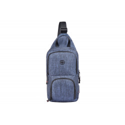 Wenger Console Cross Body Bag (Gray Blue)