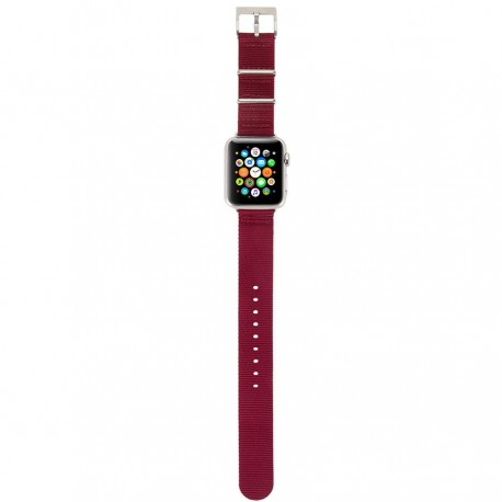 Incase Nylon Nato Band for Apple Watch 42mm - Deep Red