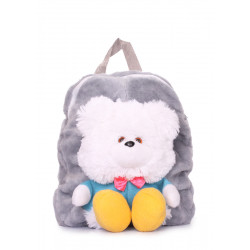 POOLPARTY Kiddy Backpack Bear Grey