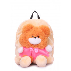 POOLPARTY Kiddy Backpack Bear Orange
