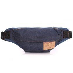 Сумка на пояс(бананка, кондукторка) Poolparty BumBag (Jeans)