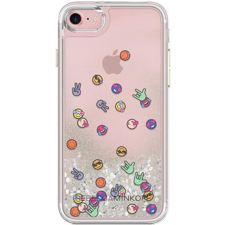 Incipio Rebecca Minkoff Glitterball Emojis
