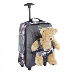 Детский чемодан для ручной клади Cabin Max Bear Camo 5060505760538