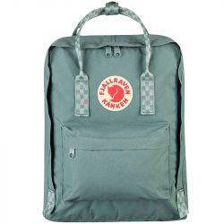 Fjallraven Kanken (Frost Green/Chess Pattern)