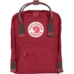 Fjallraven Kanken Mini (Deep Red-Random Blocked)